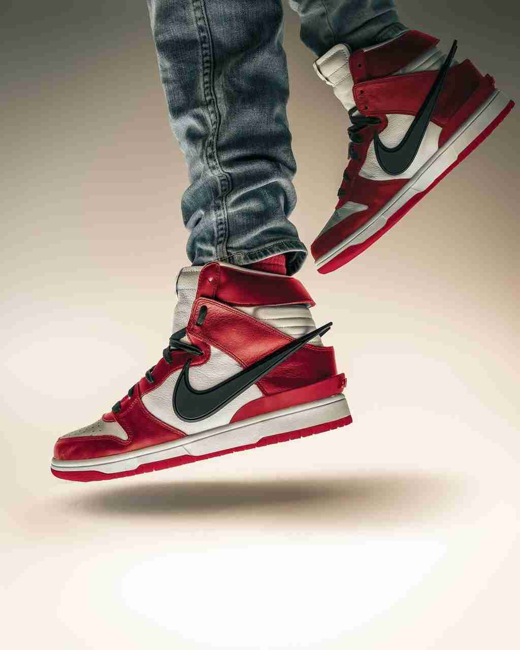 AMBUSH x Nike Dunk photo by Bruce Ha