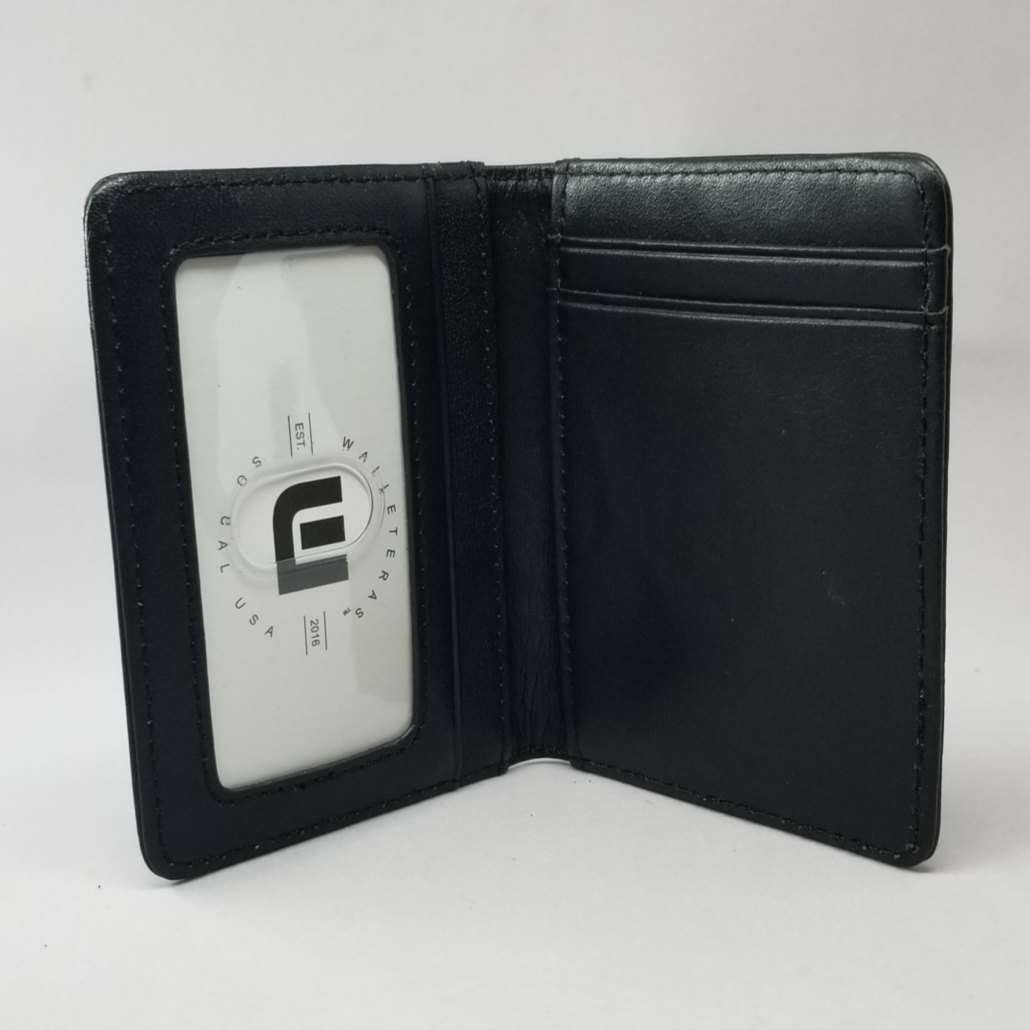 Front Pocket Wallet with RFID Protection and ID Window - S1