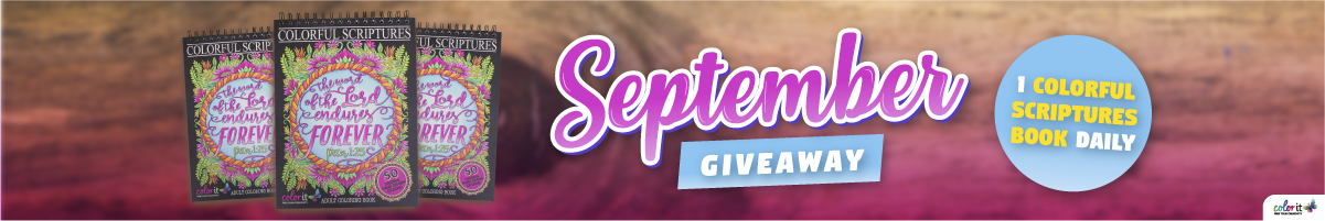ColorIt September Giveaway