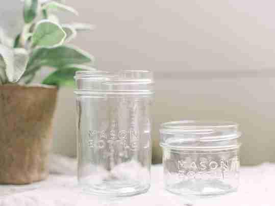 New Mason Bottle glass jars