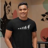 Male Tap Dance Evolution T-Shirt
