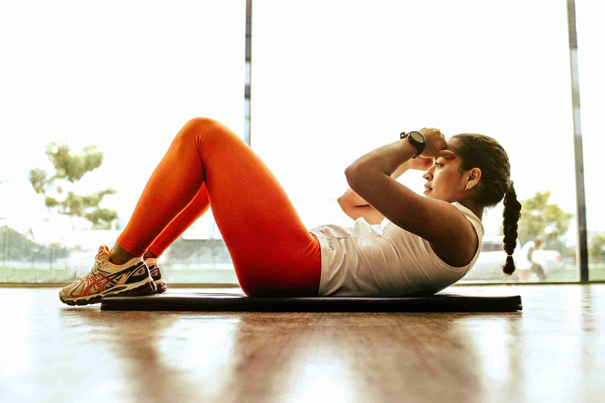 slower movement women exercising