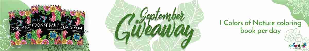 ColorIt September 2020 Giveaway