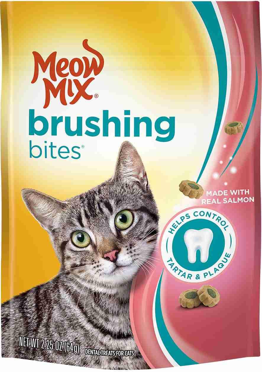 Meow Mix Brushing Bites