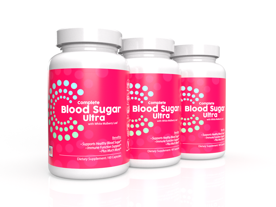3-Pack: Complete Blood Sugar Ultra
