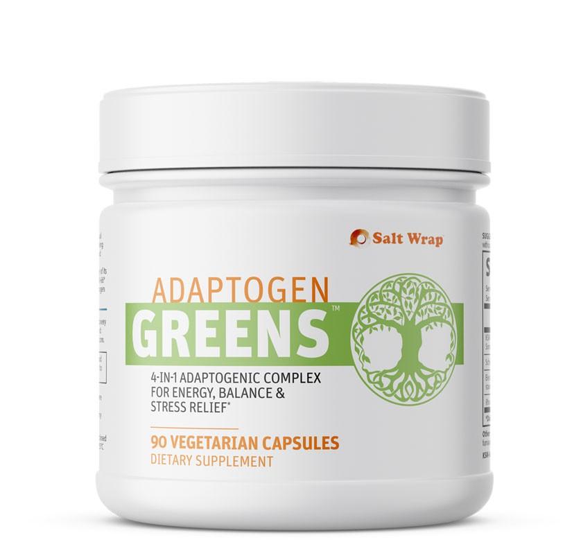 Adaptogen Greens caffeine free energy nootropic