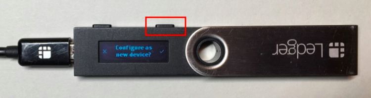 configuring the Ledger Nano S
