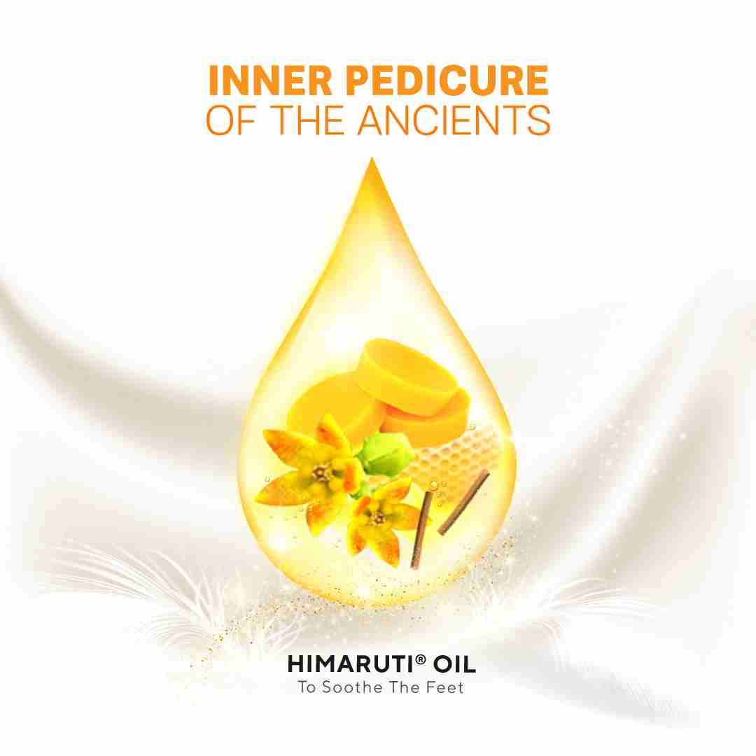 The Inner Pedicure Of The Ancients With Himaruti Oil - How To Use