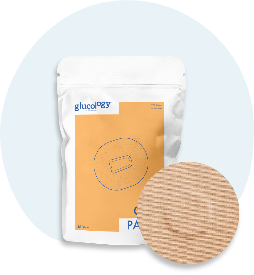 Glucology™ CGM Patches 25 Pack | Dexcom G4/ G5