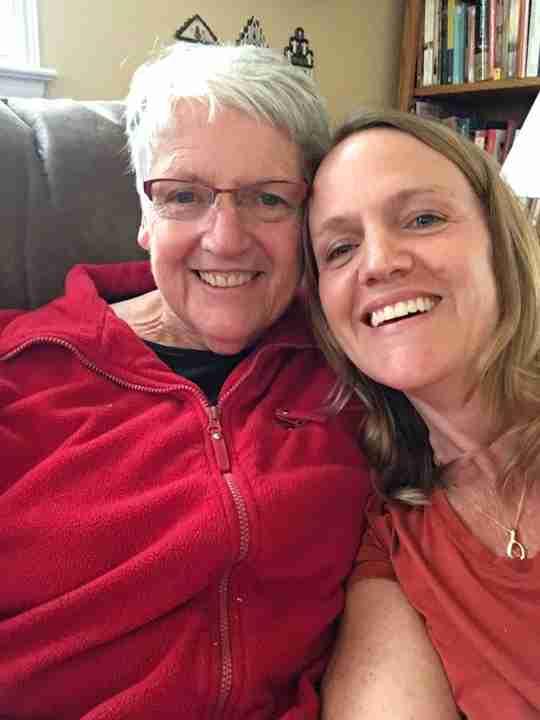 Mom and Renee MadeOn