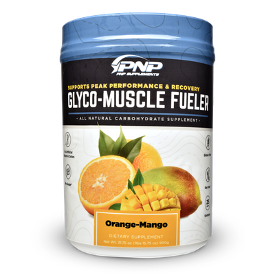 Carbohydrate supplement powder Glyco-Muscle Fueler.