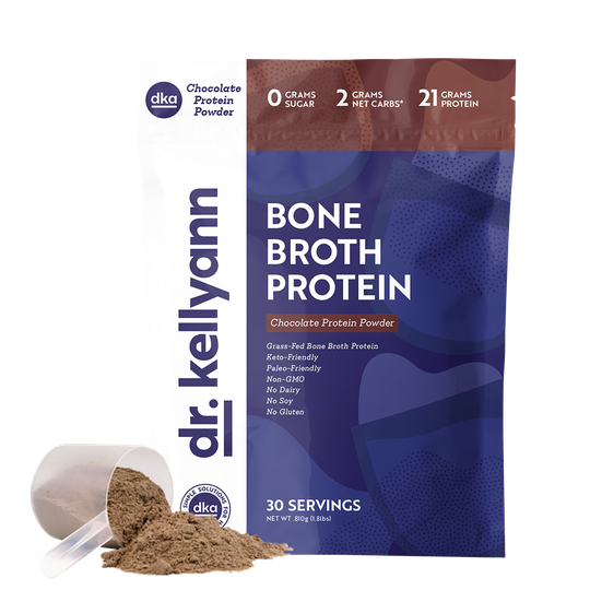 Dr. Kellyann powdered bone broth packets