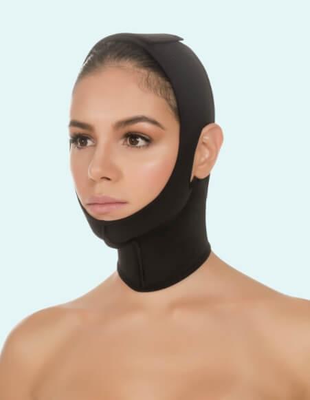 356 - Post Surgery Compression Face Wrap