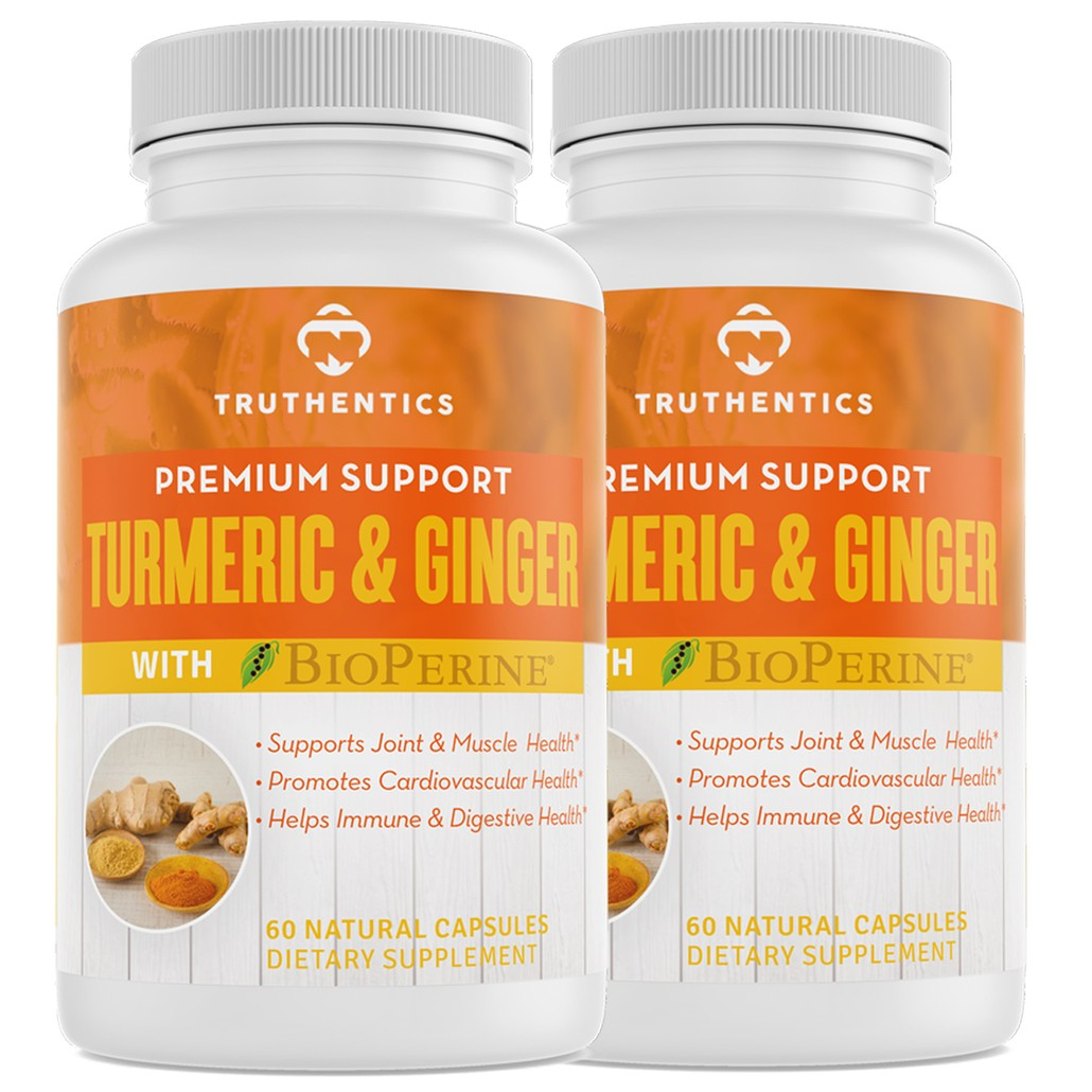 Turmeric & Ginger with Bioperine