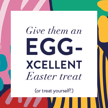 Give an EGG-xcellent gift!