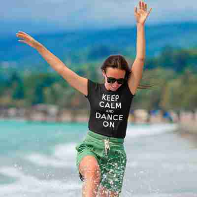 Keep Calm and Dance On classic Unisex T-Shirt - Adult