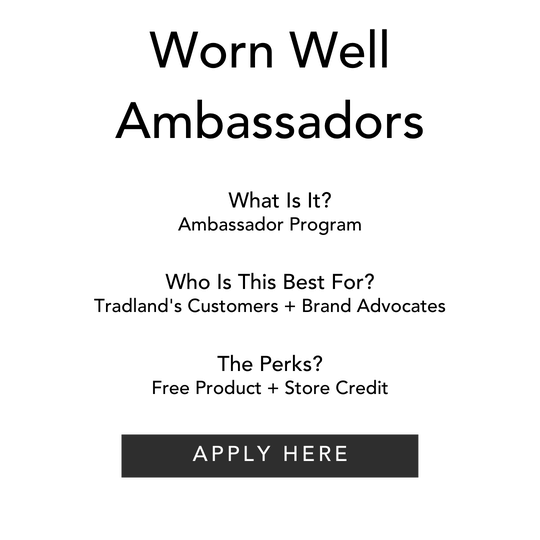 Worn Well Ambassador Application