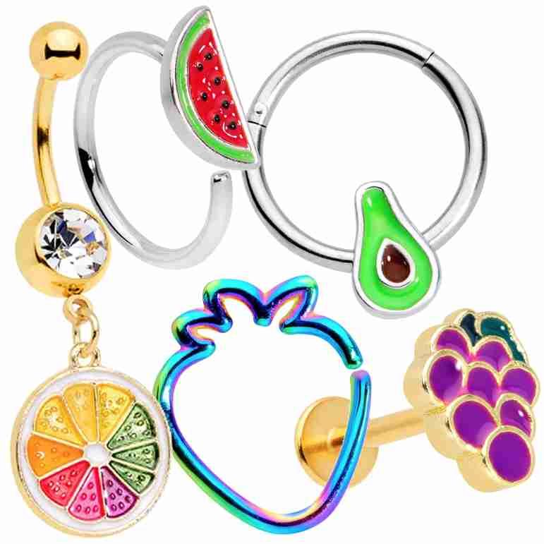 Cute Fruit Jewelry
