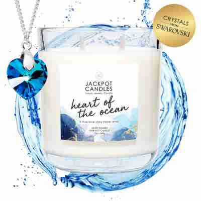 heart of the ocean candle