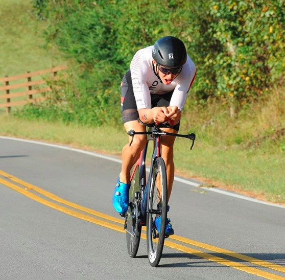 Sam Long, professional triathlete