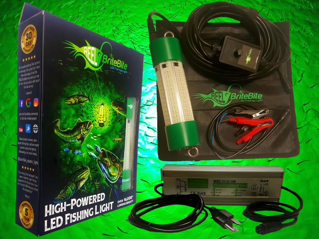 Green LED Underwater Fishing Lights