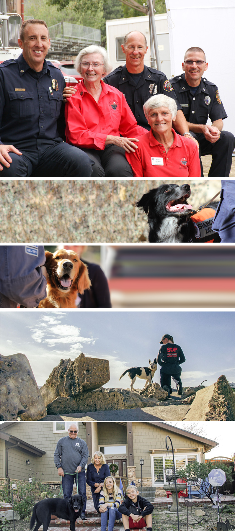 March 2019 Charity Spotlight: National Disaster Search Dog Foundation (SDF)