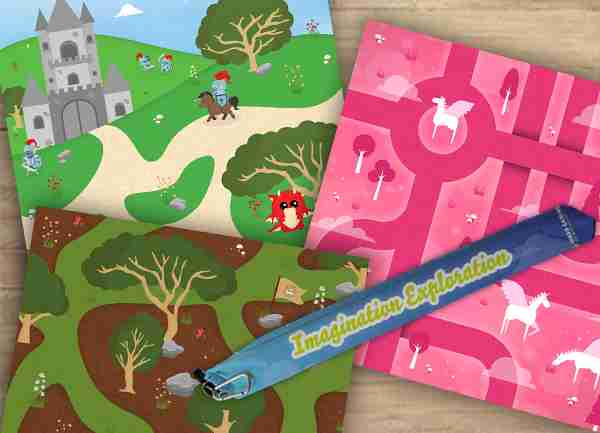 Imagination Exploration Playmats And Free Mat Bag