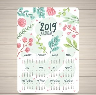 mencetak kalender
