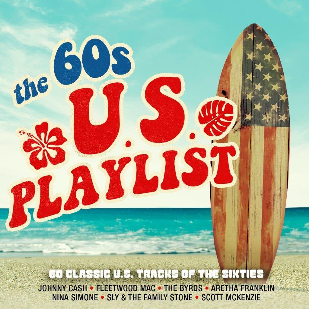 Various Artists - 60s US Playlist - 3 CD Box Set