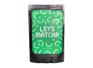 1 100 gram bag of matcha
