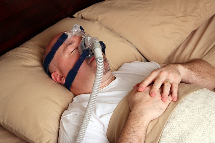 CPAP Breathing Machine