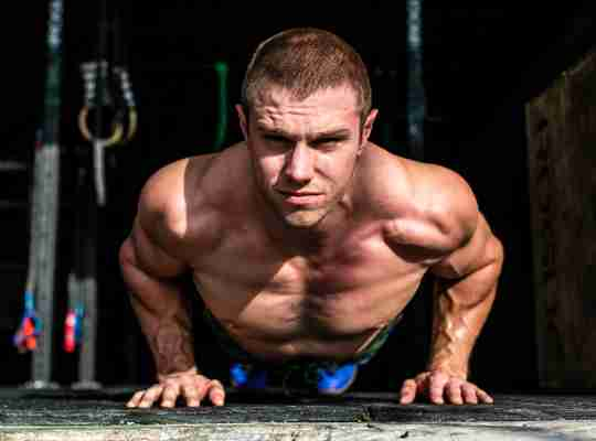 CrossFit athlete Nick Delgrande building strength and muscle naturally.