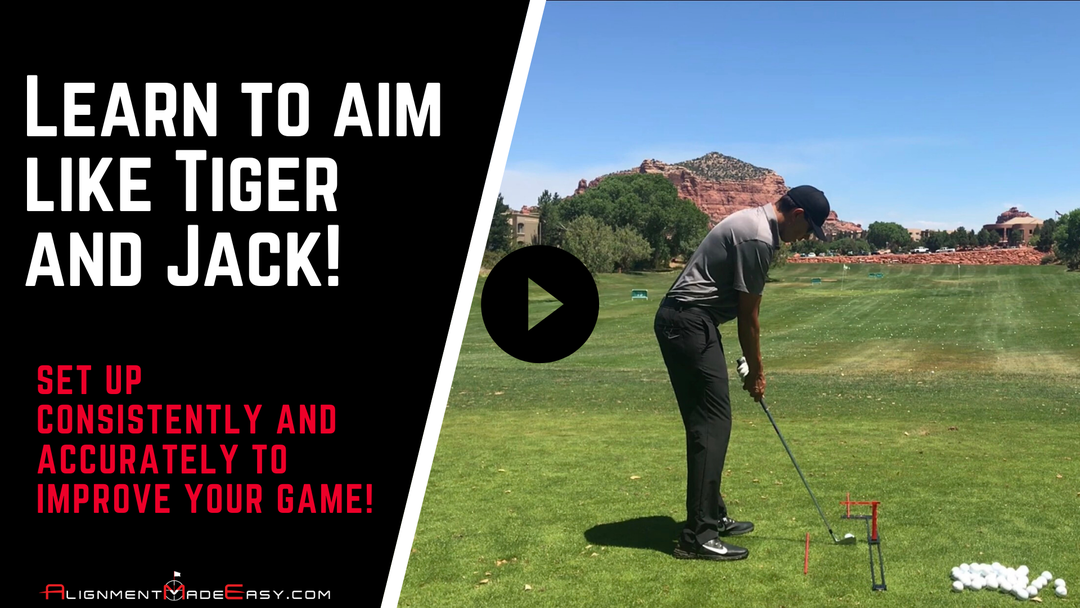 Learn to aim like Tiger and Jack