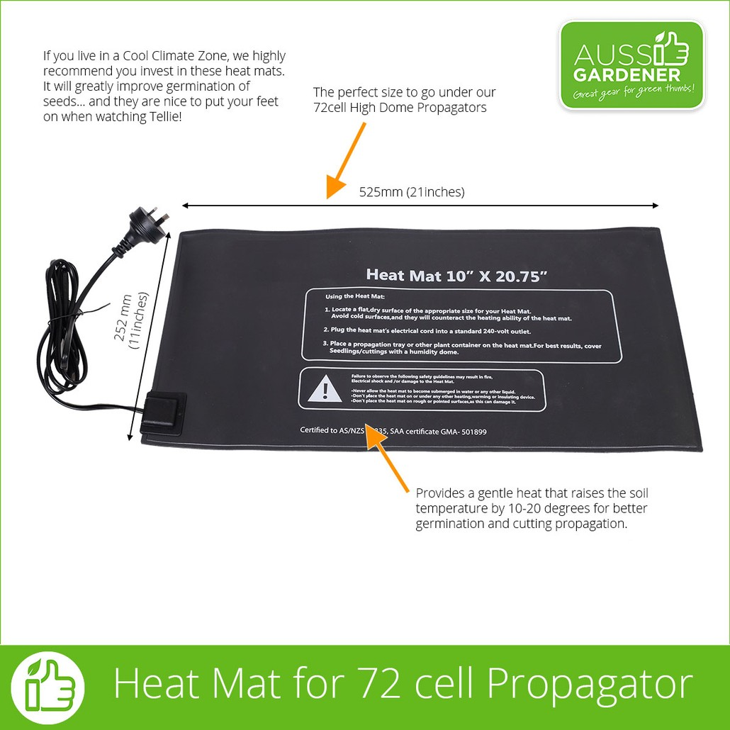 HEAT MAT to go under the 72 cell Propagator