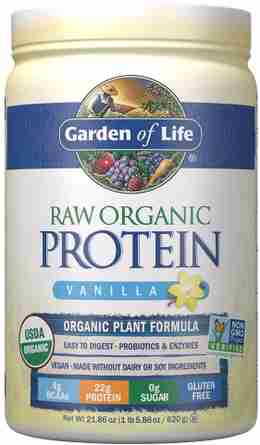 Our recommended plant based protein shake