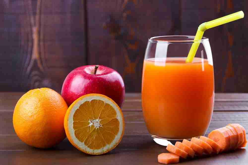 Orange Apple Carrot Drink Recipe