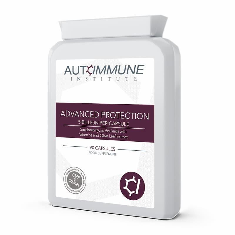Advanced Protection - High Strength Saccharomyces Boulardii Supplement (5 Billion CFU Per Capsule)