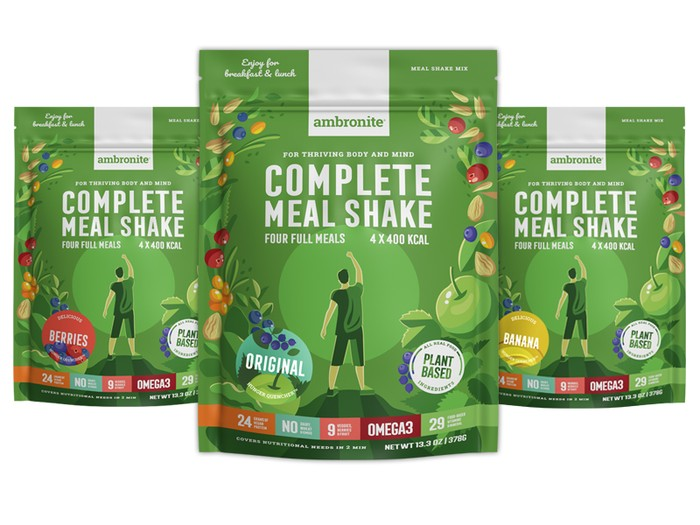 Complete Meal Shake Iso Pussi