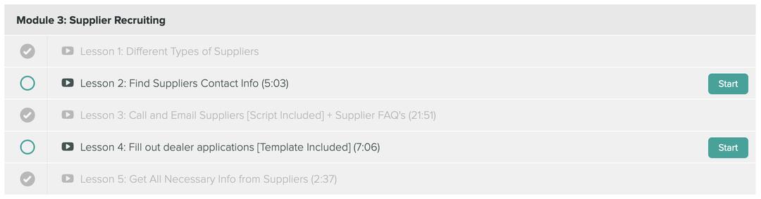 High-Ticket Drop Shipping Masterclass 8