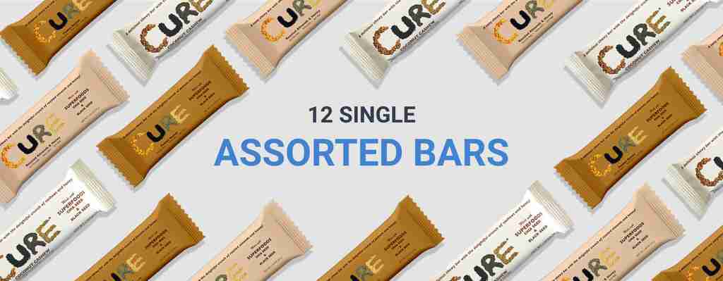Assorted cure bars