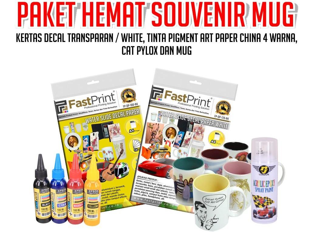 paket usaha souvenir mug decal