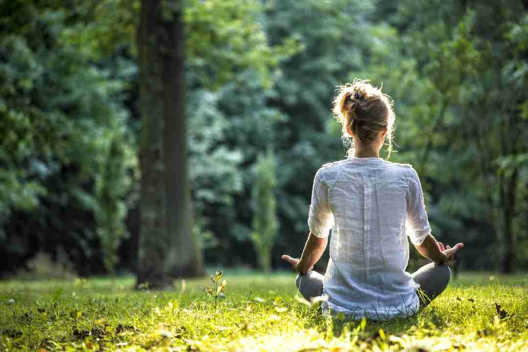brain: Outdoor meditation