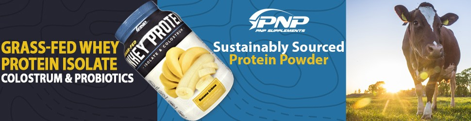 Grass Fed Whey Protein Isolate and Colostrum