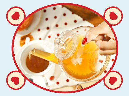 rooibos rocks tea pot honeybush
