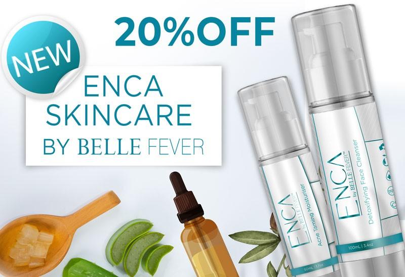 Belle Fever Enca Skin care 20% OFF Afterpay day sale