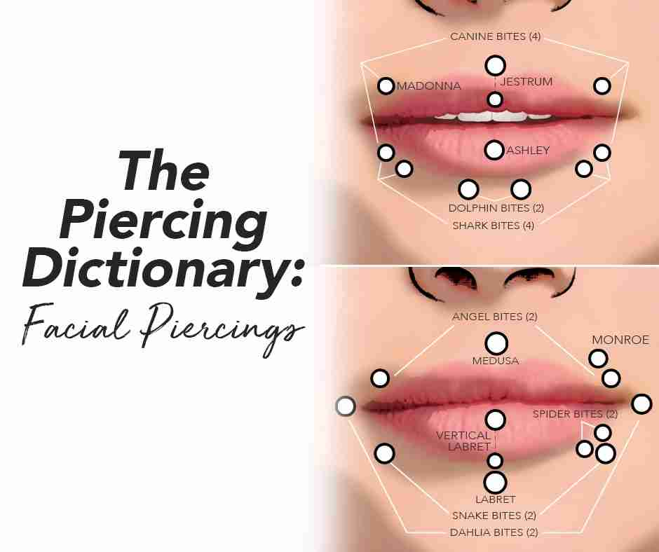 facial piercings