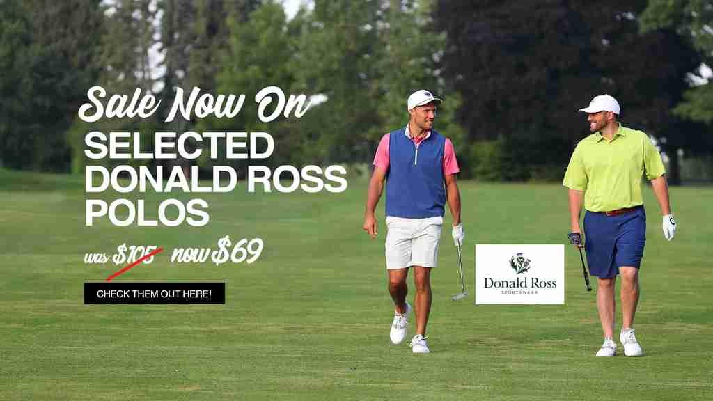 Donald Ross Polo Shirts