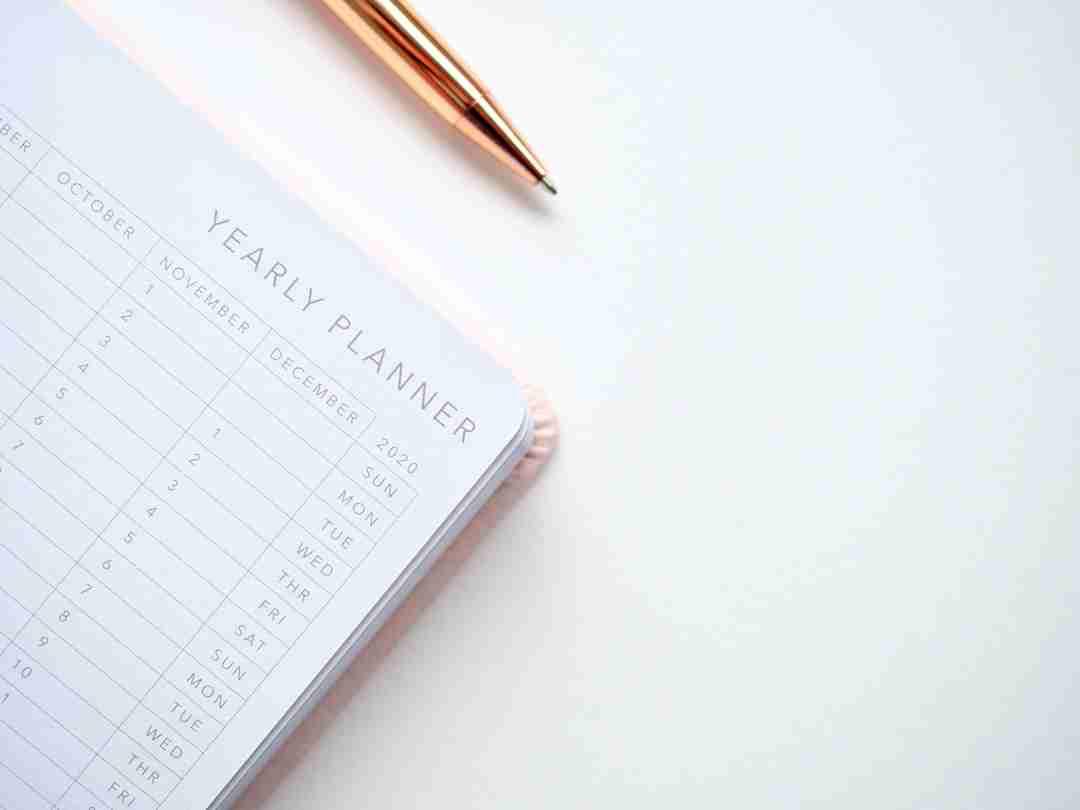 healthy habits notebook