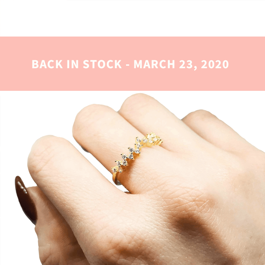 Esther Pettite Cluster Ring