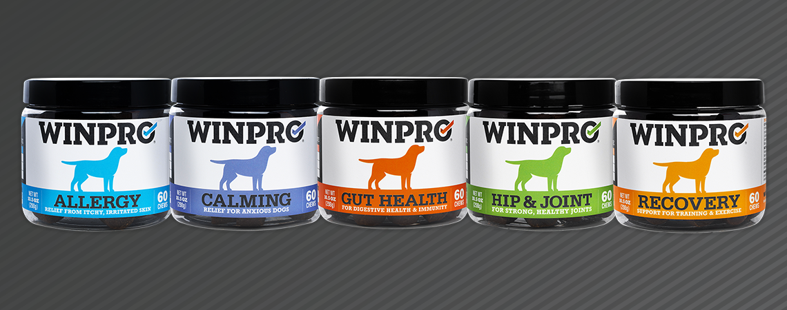 NEW WINPRO CANNISTERS